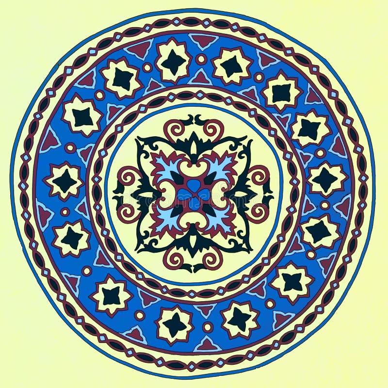 Islamska Meczetowa sztuka ilustracja wektor