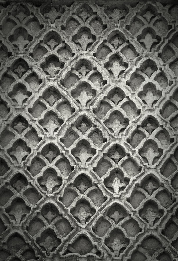 Islamska sztuka kamienia tekstura obraz royalty free