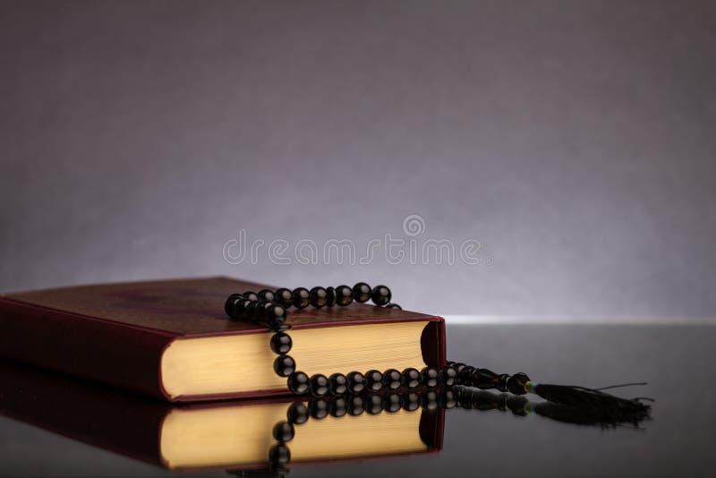 Islamski święta księga koran fotografia stock