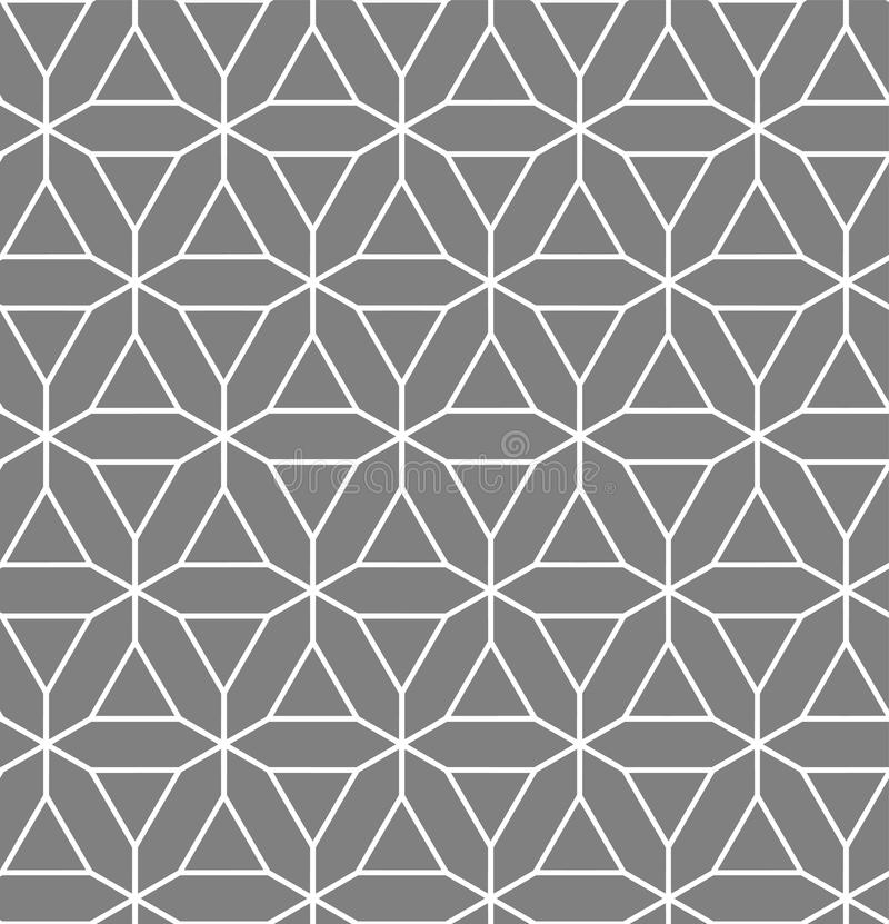 Islamski inspirowany bezszwowy wzór ilustracji