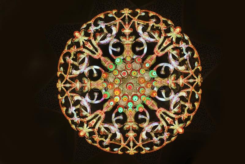 Islamski projekta wzór zdjęcie stock