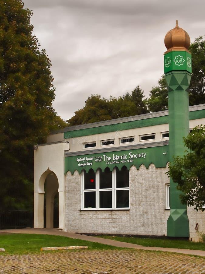 Islamski społeczeństwa centrum Środkowy Nowy Jork zdjęcie royalty free