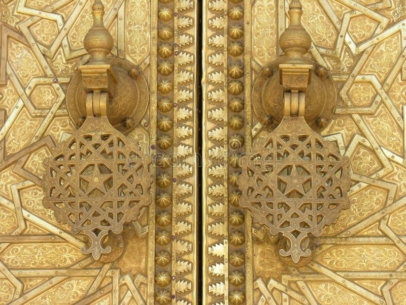islamskich drzwi obrazy stock