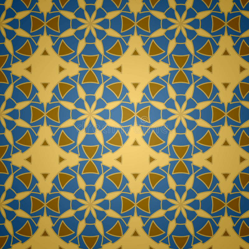 islamskiego ornamental wzoru bezszwowy wektor