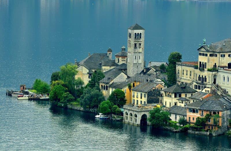 Download Island stock image. Image of lake, milan, europe, reflection - 14477361