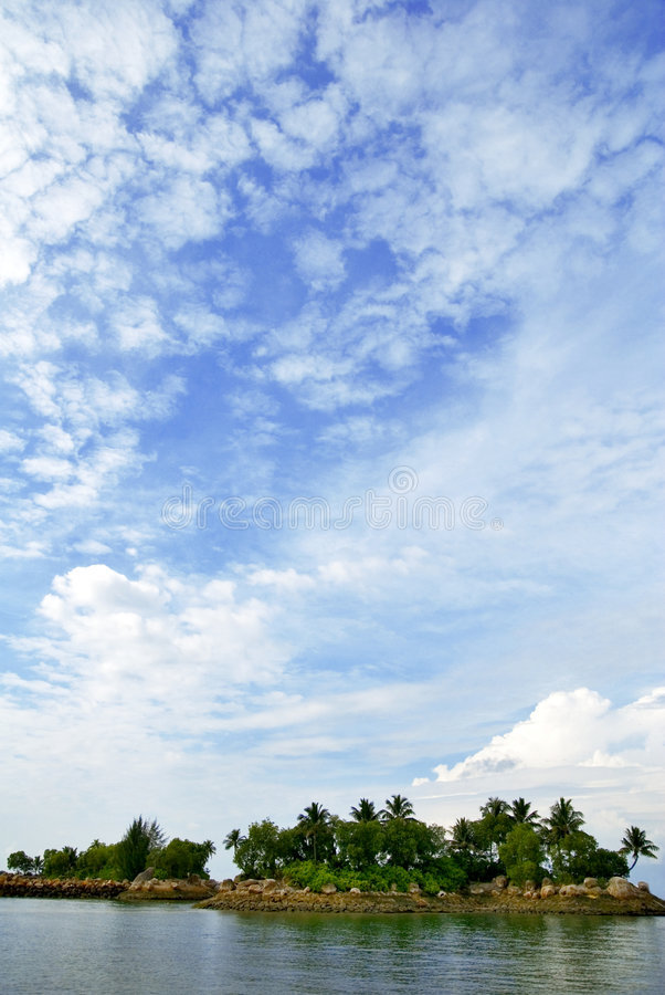 Download Island stock image. Image of good, leisure, cloud, composition - 2978591