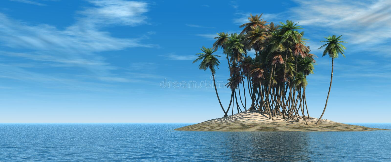 Island. Stock Photos