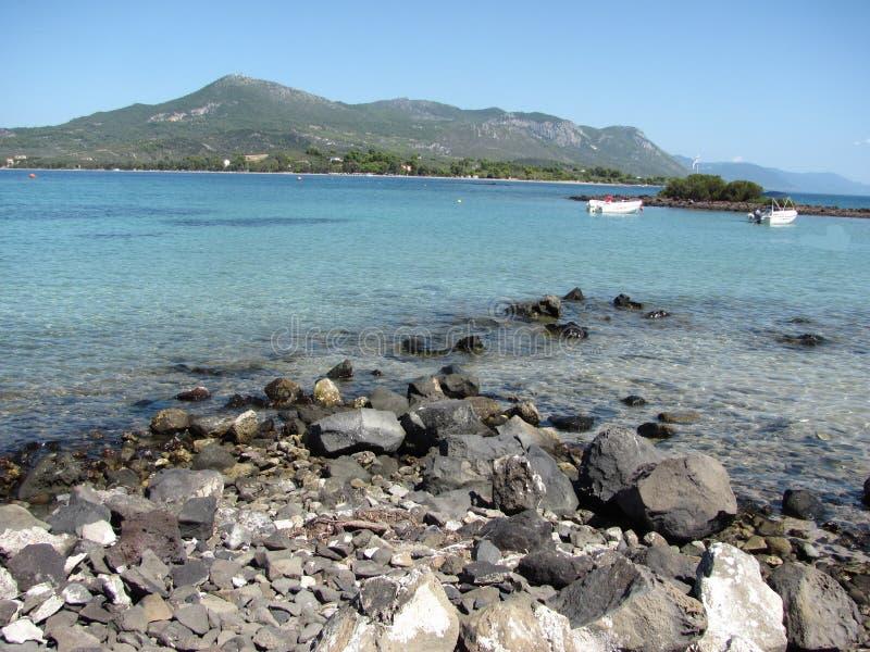 Island in the Aegean Sea stock photography