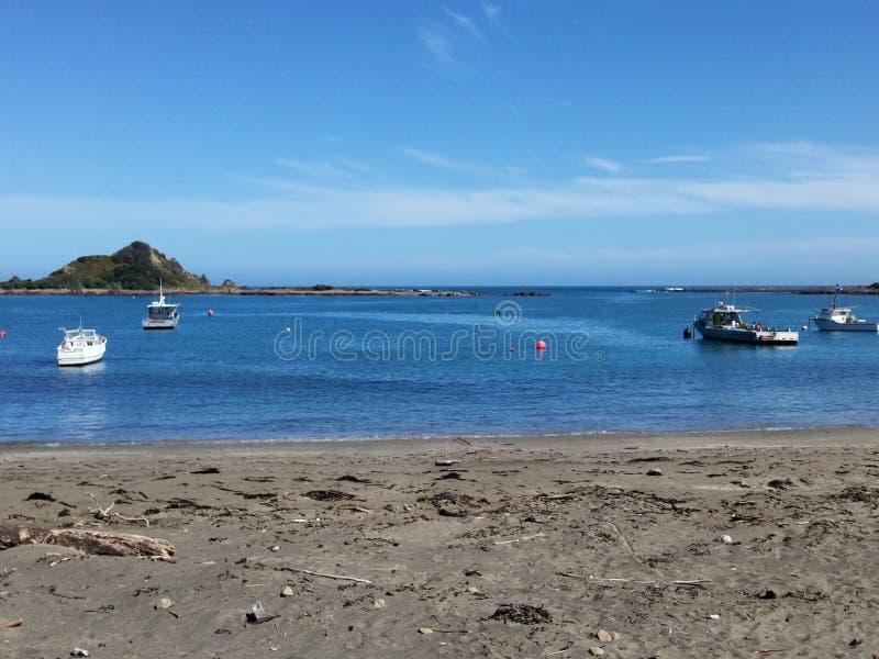 Island Bay ocean beach stock images