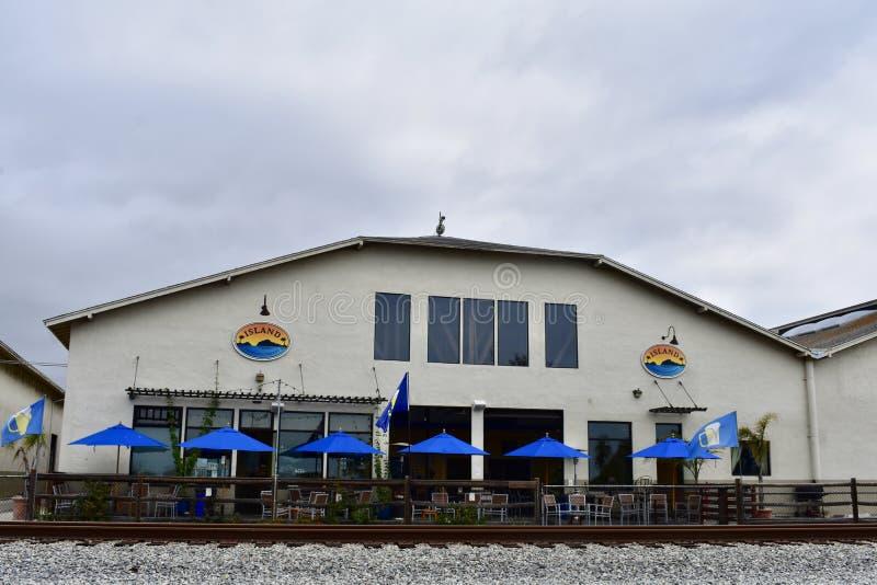 Island Brewing Company Carpinteria California fotografia stock
