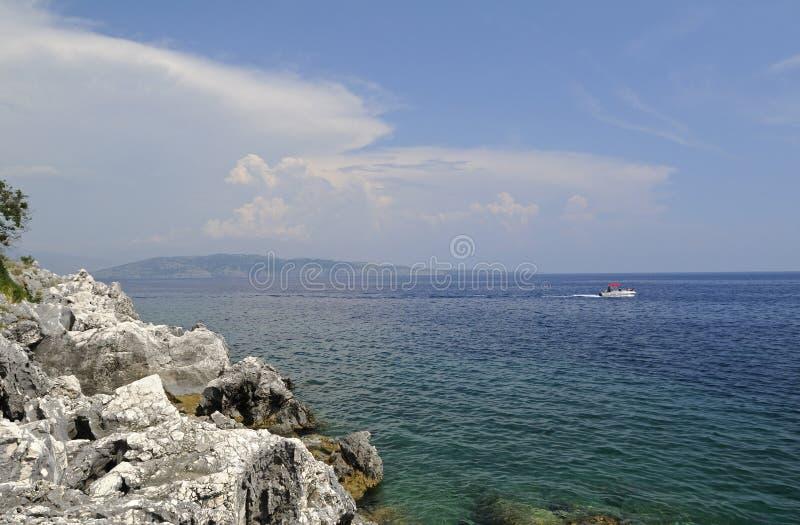 Download Island Corfu stock image. Image of holiday, coast, boat - 19824821