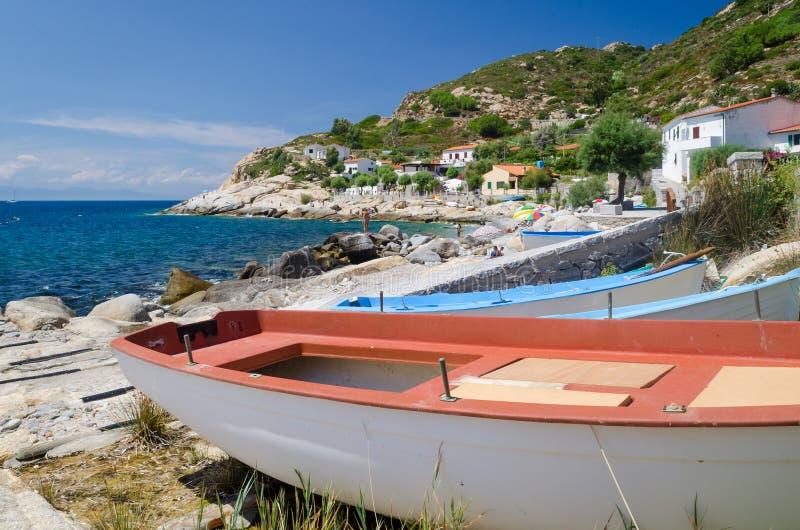 Island of Elba, Chiessi royalty free stock photos