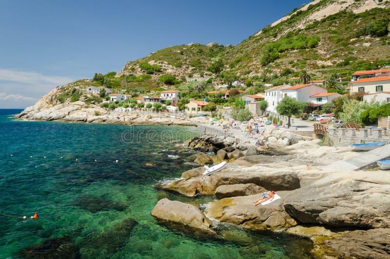 Island of Elba, Chiessi royalty free stock photo