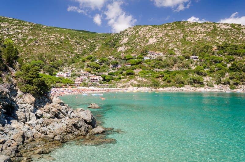 Island of Elba, Fetovaia royalty free stock image