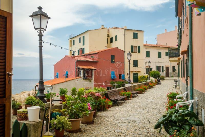 Island of Elba, Marciana Marina royalty free stock photo