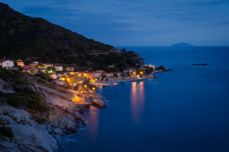 Island of Elba, Pomonte stock images