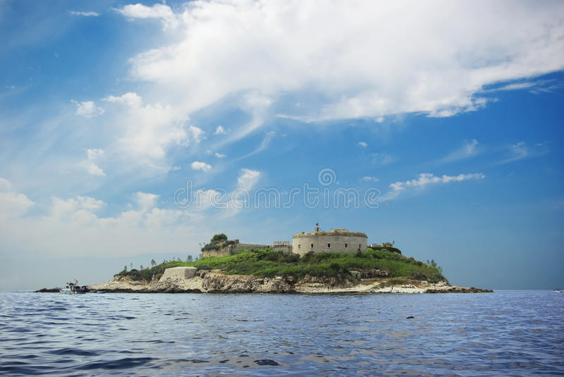Island Fort royalty free stock photo