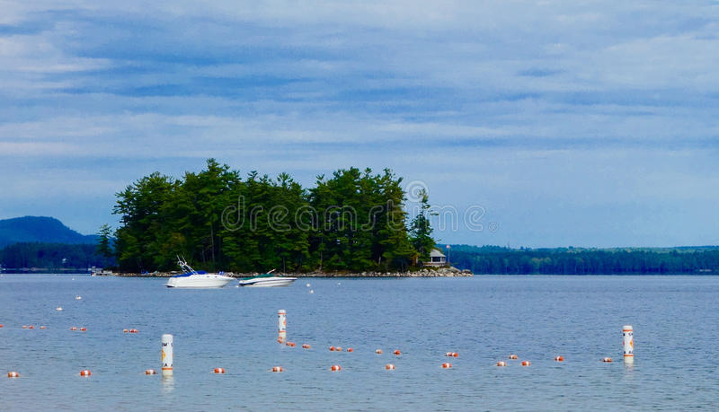 Island getaway private privacy secluded seclusion stock photography