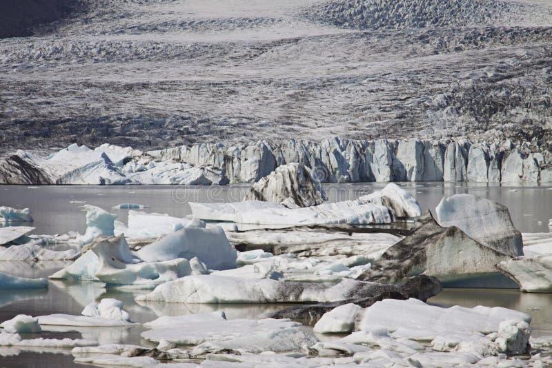 Island: Glacier See stockbilder