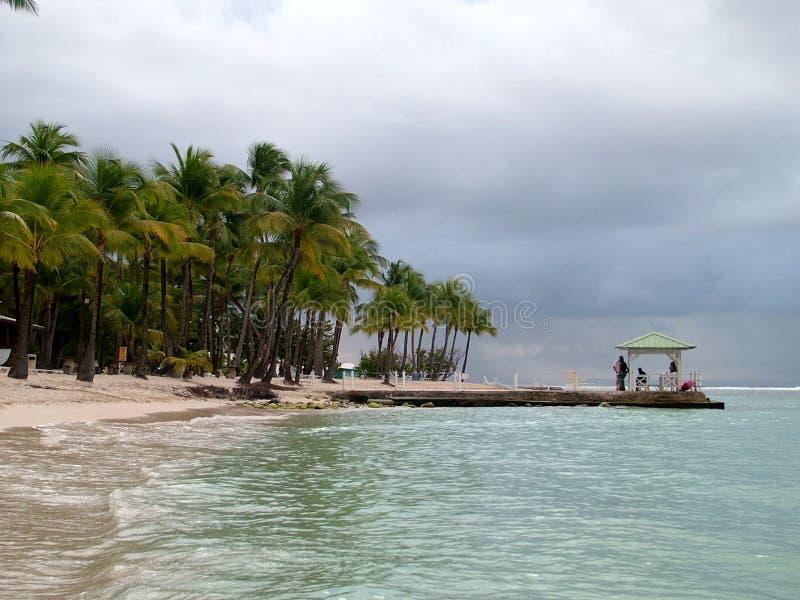 Island of Guadaloupe royalty free stock photo