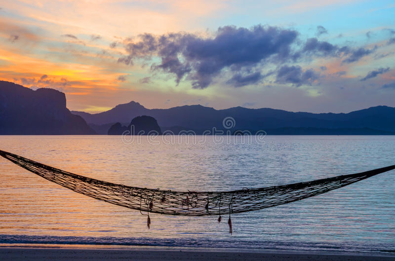 Download Island Hammock stock image. Image of dreams, relaxation - 37242535