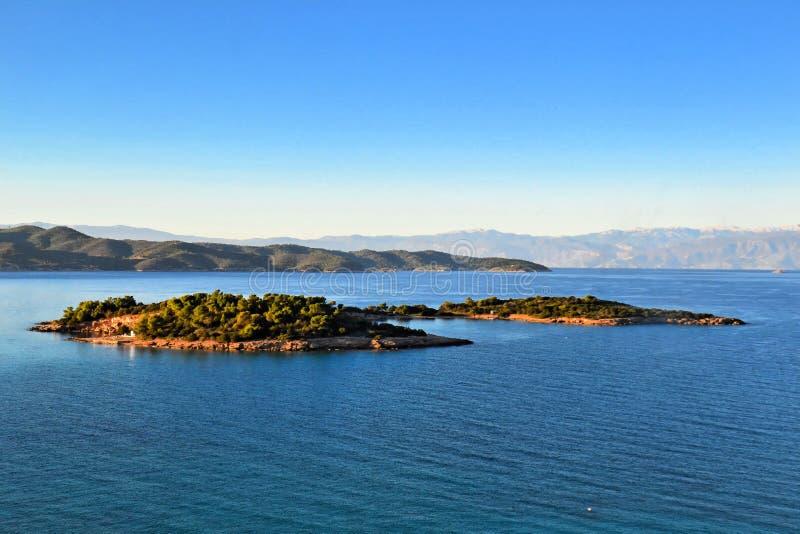 The island of Hinitsa stock images