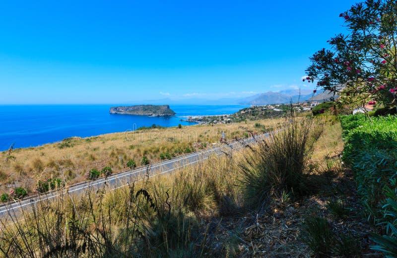 Island Isola di Dino, Kalabrien, Italien lizenzfreies stockfoto