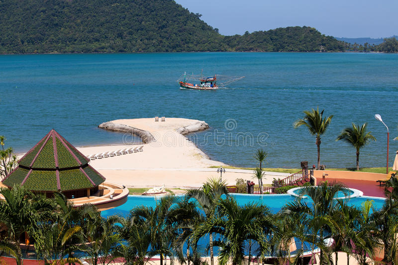 Island Koh Chang Thailand Stock Image Image Of Hotel 35005539