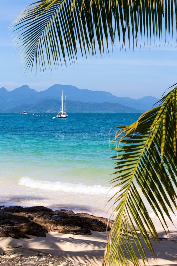 Island Koh Wai , Thailand . royalty free stock photos