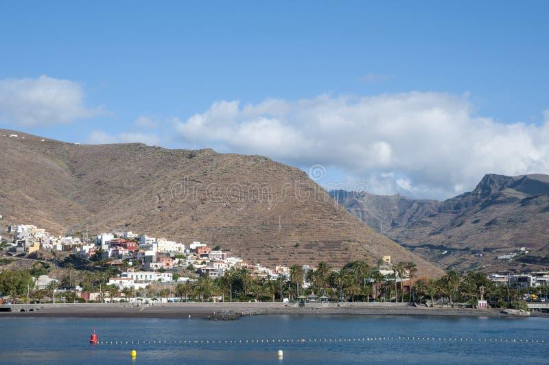 Island la Gomera. In the Canary Islands royalty free stock image