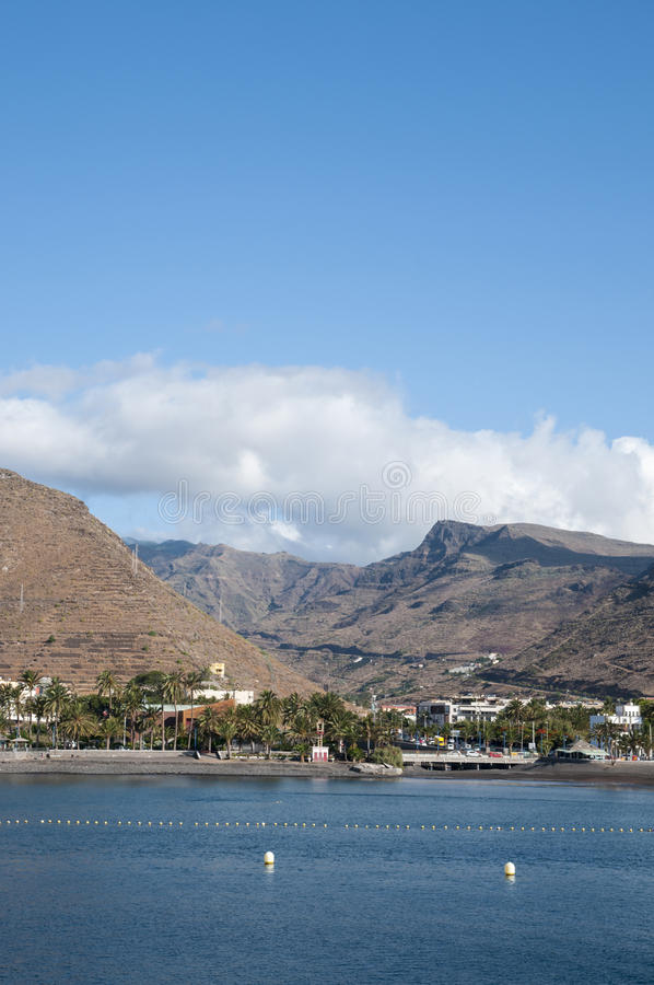 Island la Gomera. In the Canary Islands royalty free stock photos