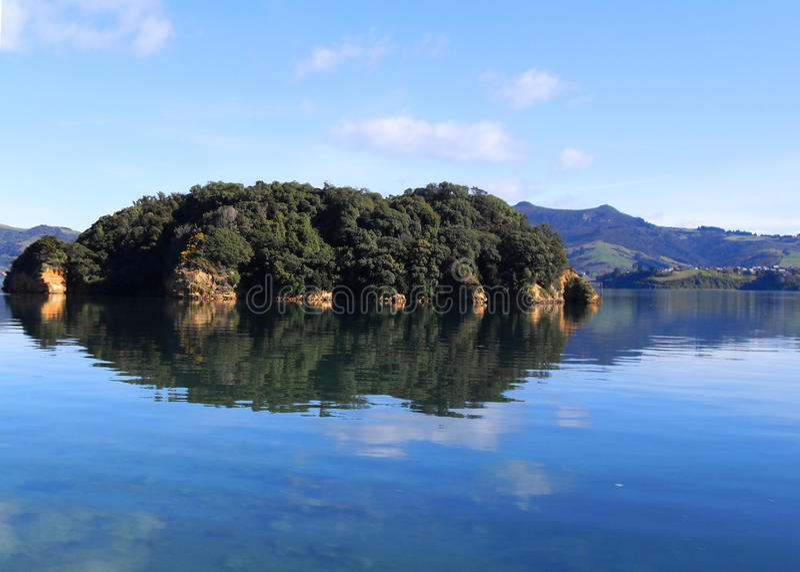 Island on the Lake stock photography