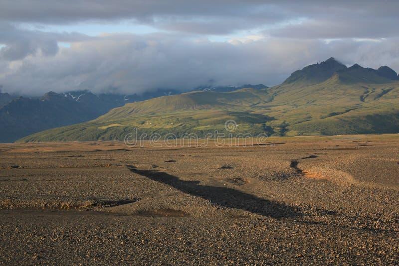 island landschaft lizenzfreie stockfotos