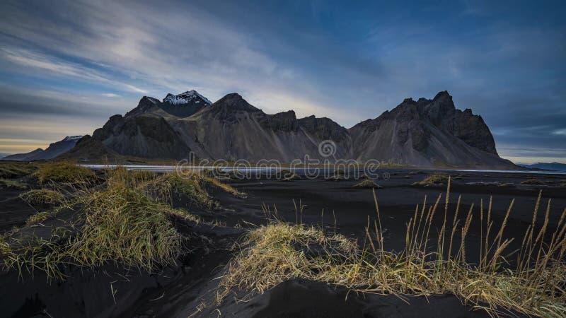 Island landskapaffärsföretag arkivfoto