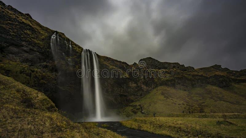 Island landskapaffärsföretag arkivfoton