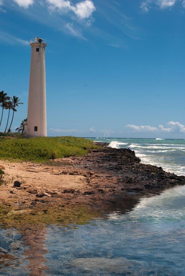 Island Lighthouse royalty free stock photo