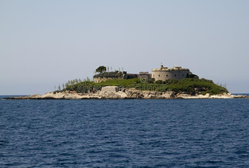 Island of Mamula, Montenegro