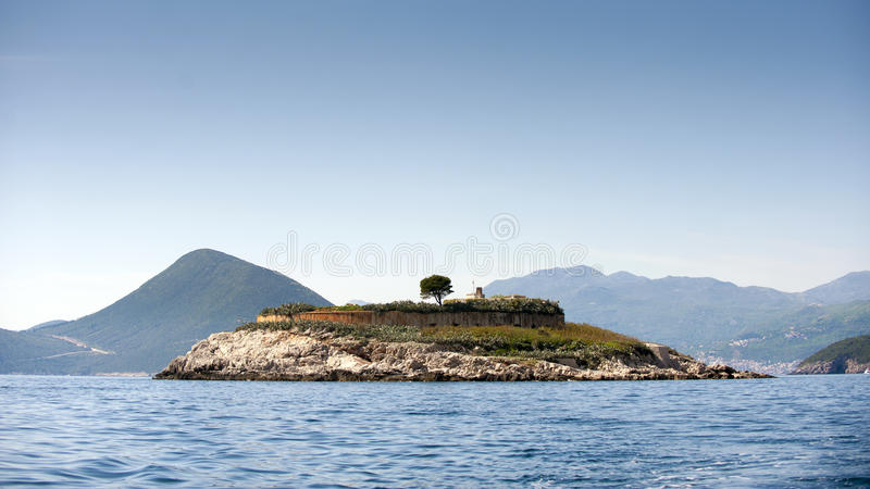 Island Mamula royalty free stock photos