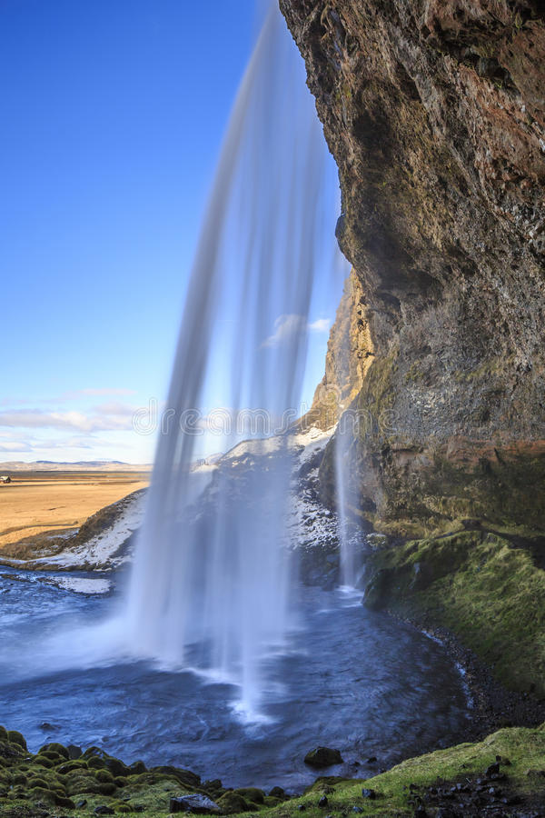 Island natur royaltyfria foton