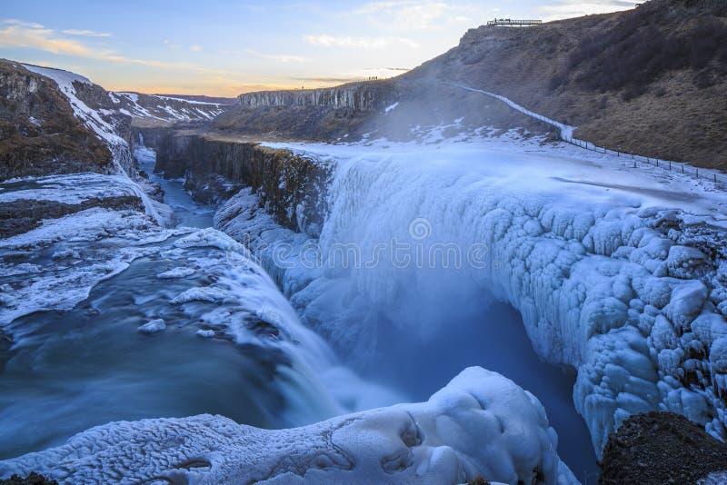 Island natur arkivbild