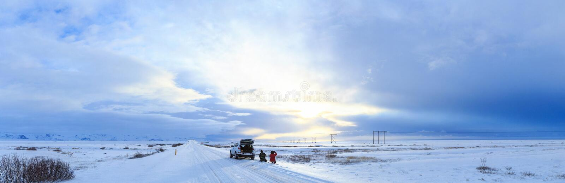 Island natur arkivbilder