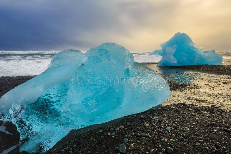 Island natur arkivfoton