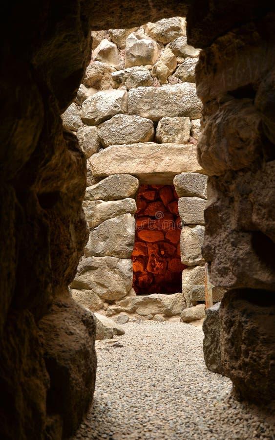 Free Island Of Sardinia, Italy. Archaeological Site Nuraghi Of Barumini Stock Photography - 184080632