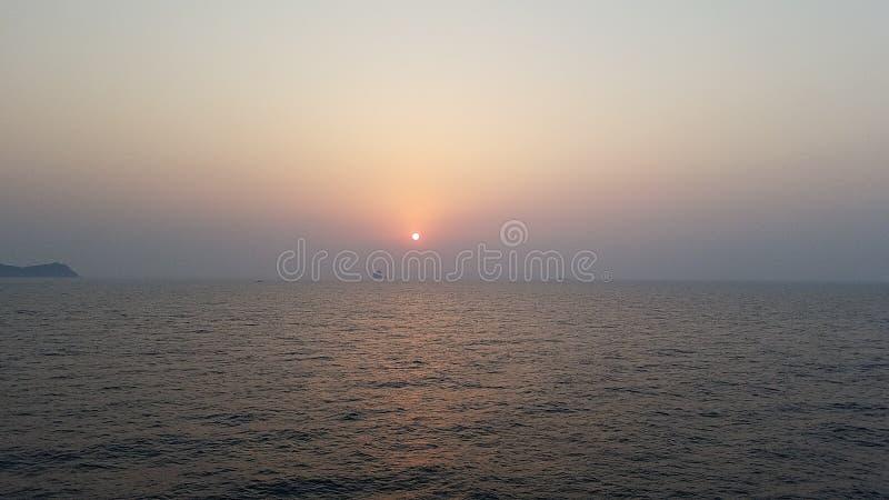 Island off the coast of Korea stock images