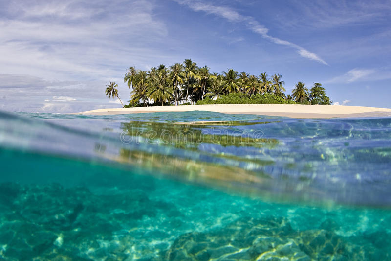 Island Paradise. Private Island surrounded by sparkling clean warm water and sunshine