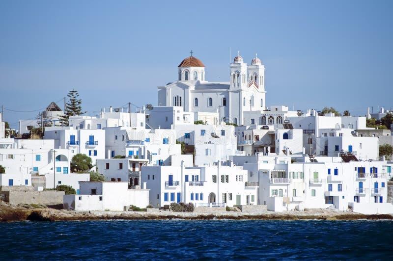 Island of Paros royalty free stock photo