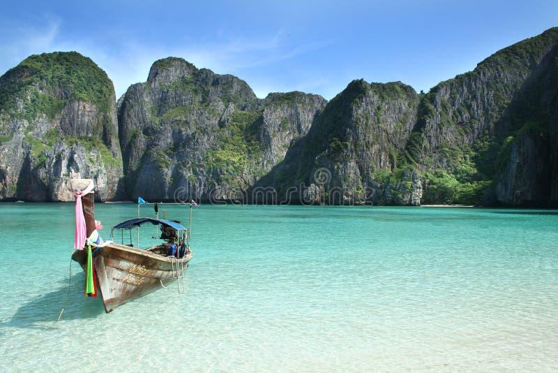 Island of Phi Phi Leh royalty free stock image