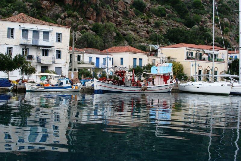Download Island of Poros, Greece stock image. Image of resort - 36060267