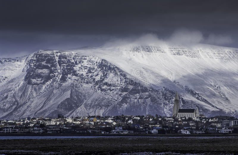 Island Reykjavik arkivbilder