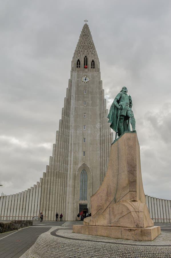 Island - Reykjavik arkivbilder